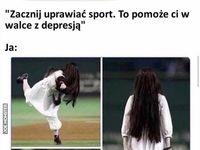 Mówią, że sport to zdrowie
