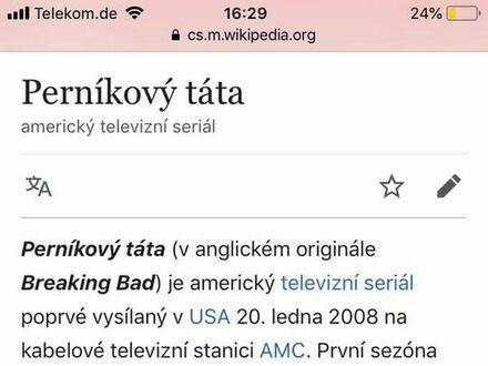 Czeski język jest piękny