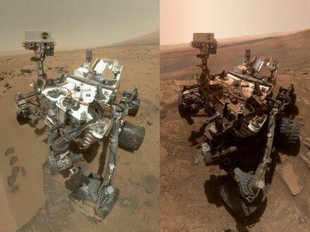 Curiosity po ponad 7 latach na Marsie