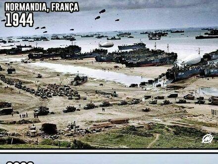 Normandia dawniej i dziś