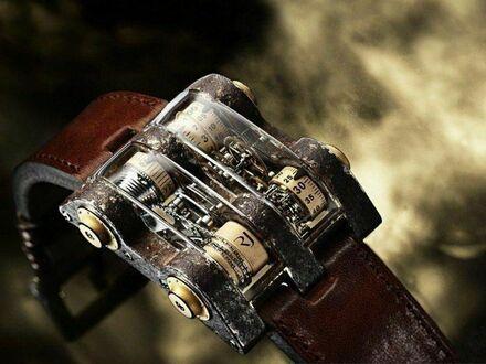 Przesadzony zegarek