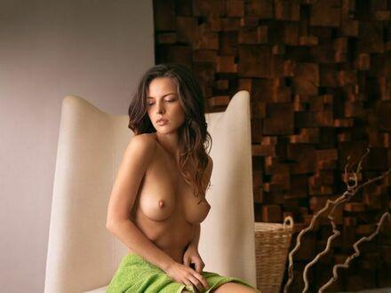 W ręczniku