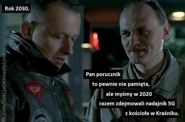 rok 2030 pan porucznik to pewnie nie pamięta