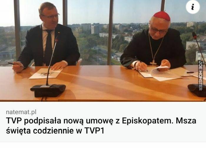 tvp podpisała nową umowę z episkopatem