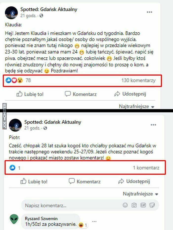 spotted gdańsk aktualny klaudia hej jestem i mieszkam w gdańsku