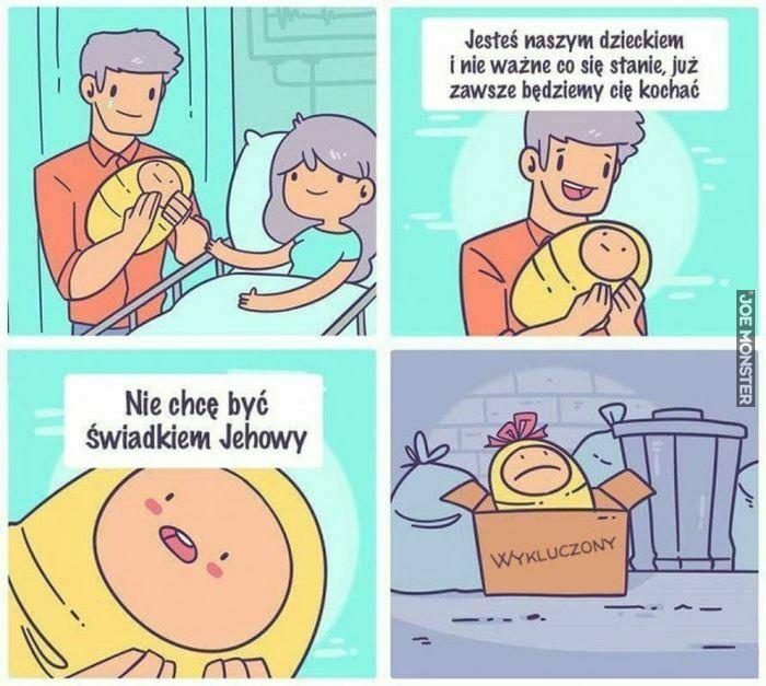 jesteś naszym dzieckiem i nie ważne