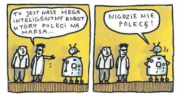to jest nasz mega inteligentny robot