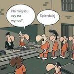 Więzienny żarcik