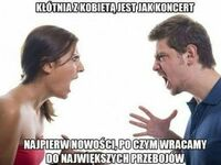 Jak na koncercie