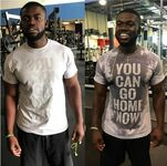Koszulka na siłownię