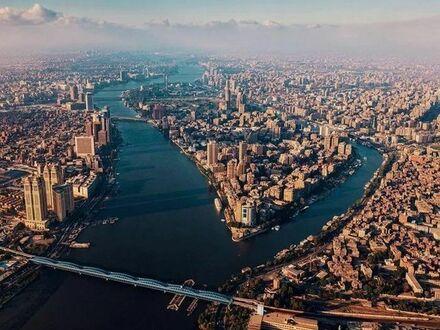 Nie, to nie NY, to Kair z lotu ptaka