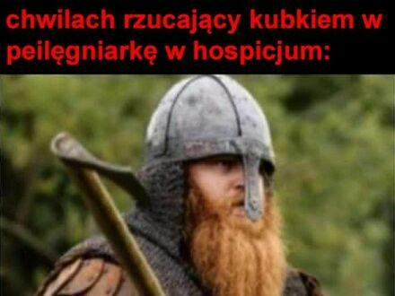 Odejdę jak prawdziwy wiking