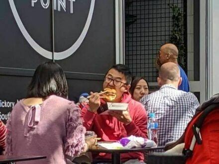 Burger po chińsku