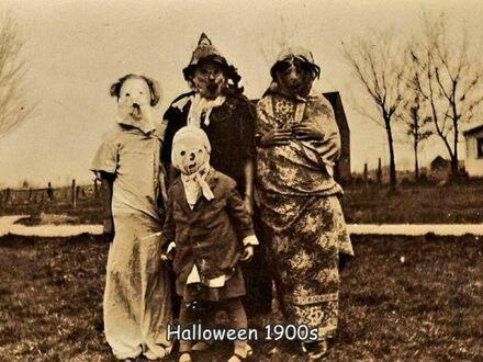 Halloween około 1900 roku