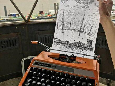Obraz z maszyny do pisania