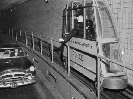 Policja tunelowa w Nowym Jorku, lata 50.