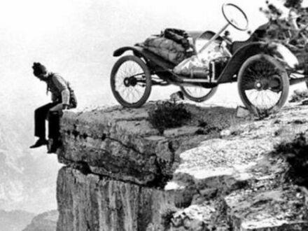 Praking w Wielkim Kanionie w 1914 roku