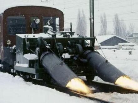 Rozmrażanie szyn w Szwajcarii w 1968 r.
