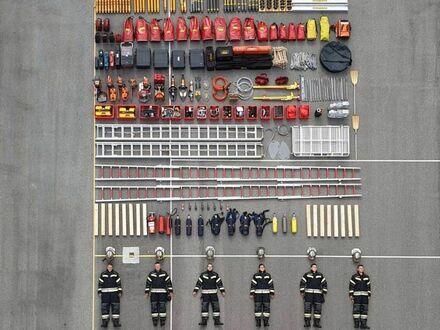 Zawartość wozu chorwackiej straży pożarnej