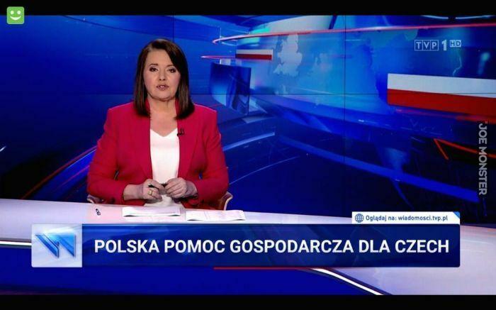 polska pomoc gospodarcza dla czech