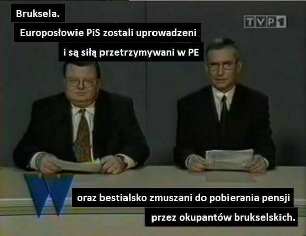 Bruksela. Europosłowie PiS zostali uprowadzeni