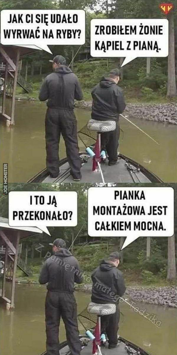 jak ci się udało wyrwać na ryby