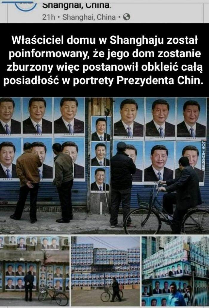 właściciel domu w szanghaju został poinformowany że jego