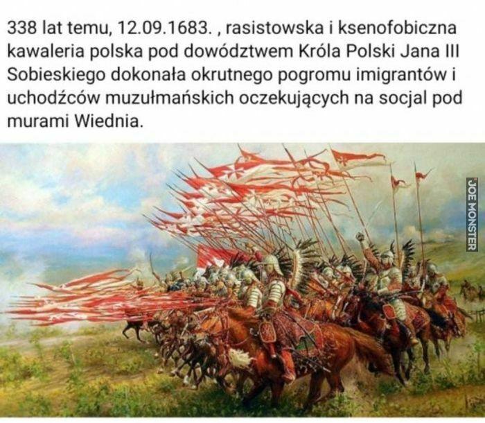 338 lat temu 12.09.1683 rasistowska i ksenofobiczna