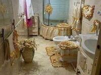 Łazienka w stylu Ludwika XVI