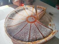 Jak można w taki sposób kroić ciasto?!