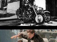 Jak nagrywano znaną scenę z Terminatora