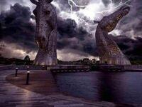 Kelpies w Szkocji