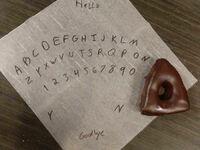 Prowizoryczna tablica Ouija