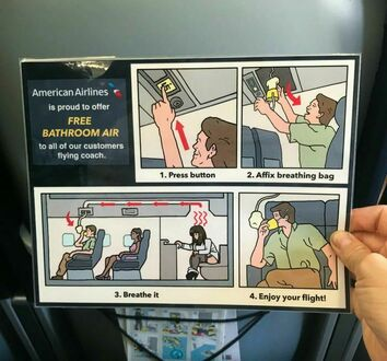 Nowy system wentylacji linii American Airlines