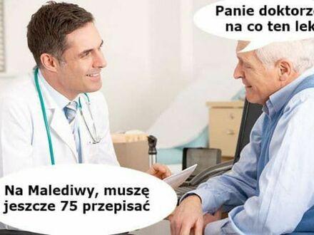 Pan doktor poleca