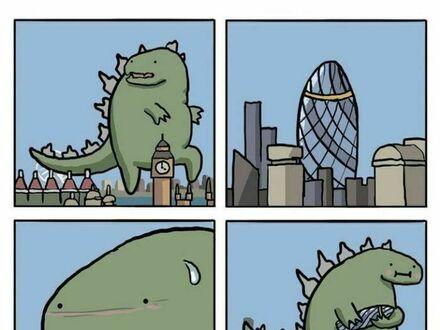 Perwersyjny Godzilla