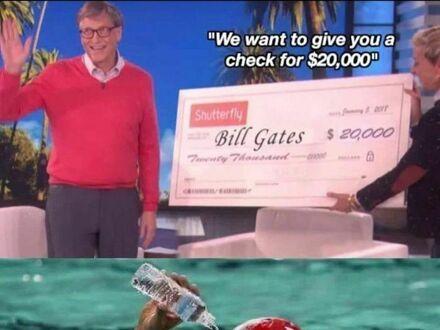 Czek dla Billa