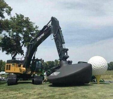 Duży golf dla dużych chłopców