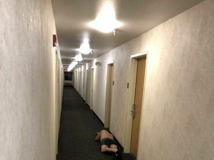 Nie udało mu się dotrzeć do pokoju