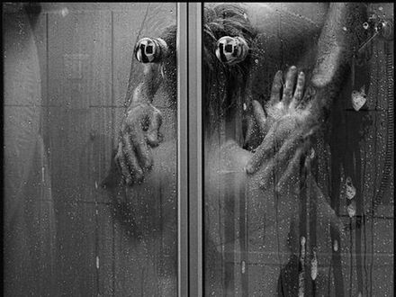 Igraszki pod prysznicem