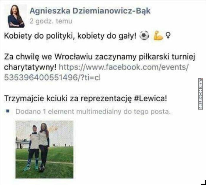 kobiety do polityki kobiety do gały