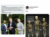 James, czy możesz nas przenieść do muzeum?