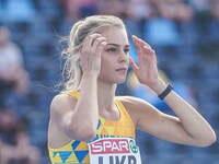Ukraińska skoczek (czy tam skoczkini) wzwyż Julia Łewczenko