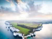 Malownicze wybrzeże Anglii