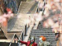 Spotkanie dwóch klaunów