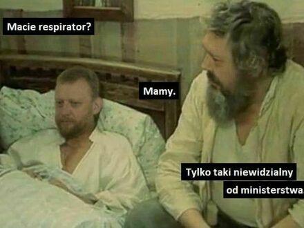Ex minister w szpitalu