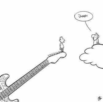 W hołdzie zmarłemu Eddiemu Van Halenowi