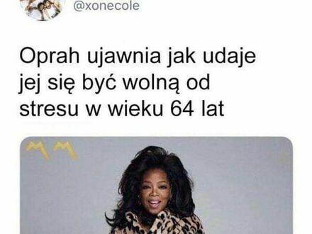 Dzięki Oprah