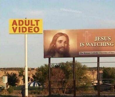 Jezus wszystko widzi