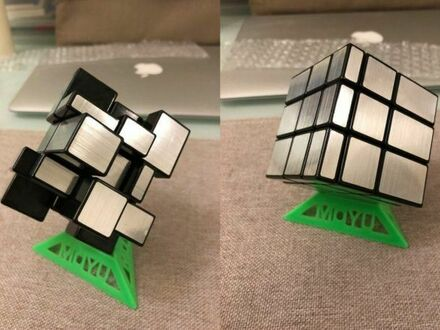 Kostka Rubika oparta na wielkości i kształcie oczek, a nie kolorze